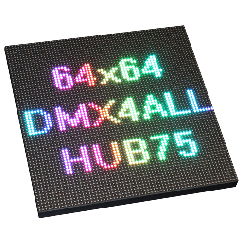 HUB75 Dot-Matrix Panel 64x64